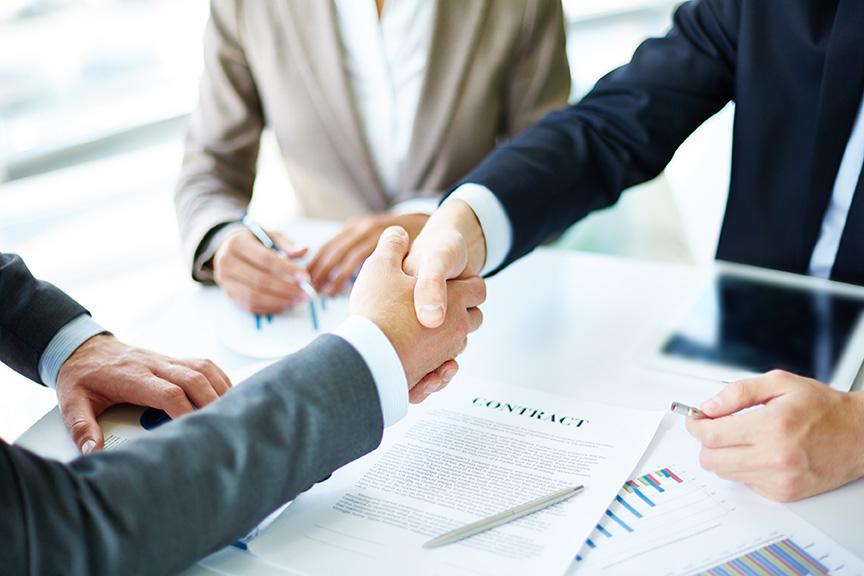 Ronda de negocios UNQUI con diferentes empresas
